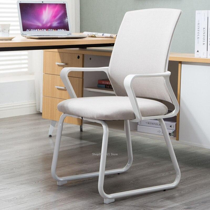 Офисный стул с высокой спинкой компьютерный современный простой для дома