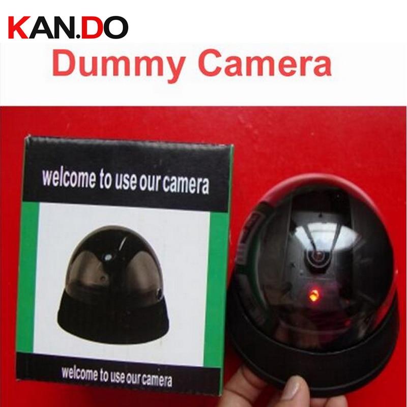 Mr1 LED intermitente imitación CCTV Cámara falsa w/ IR LED intermitente Cámara simulada w/Embalaje simulación Cámara