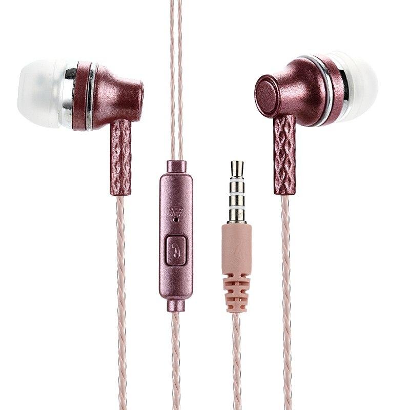 ¡Oferta! auriculares estéreo de 3,5mm con graves, Auriculares deportivos transparentes con micrófono para iPhone y Xiaomi para auriculares Samsung