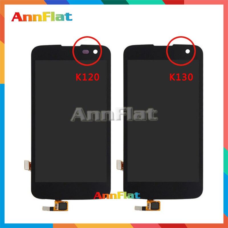 4,5 para LG K4 LTE K120AR K120E K120 y K4 VS425 K130 K130E pantalla LCD con montaje de digitalizador con pantalla táctil