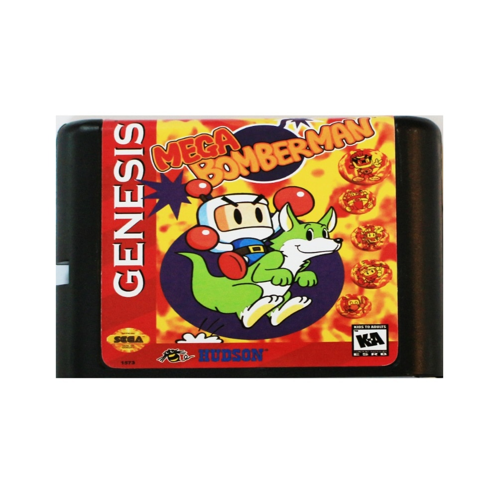 Mega Bomber hombre 16 bit tarjeta de juego MD para Sega Mega...