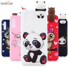 Coque en Silicone sur Coque Samsung Galaxy A10 A20 A30 A40 A50 A70 A51 A71 Coque Panda Coque arrière pour étuis Samsung M10 M20 M30