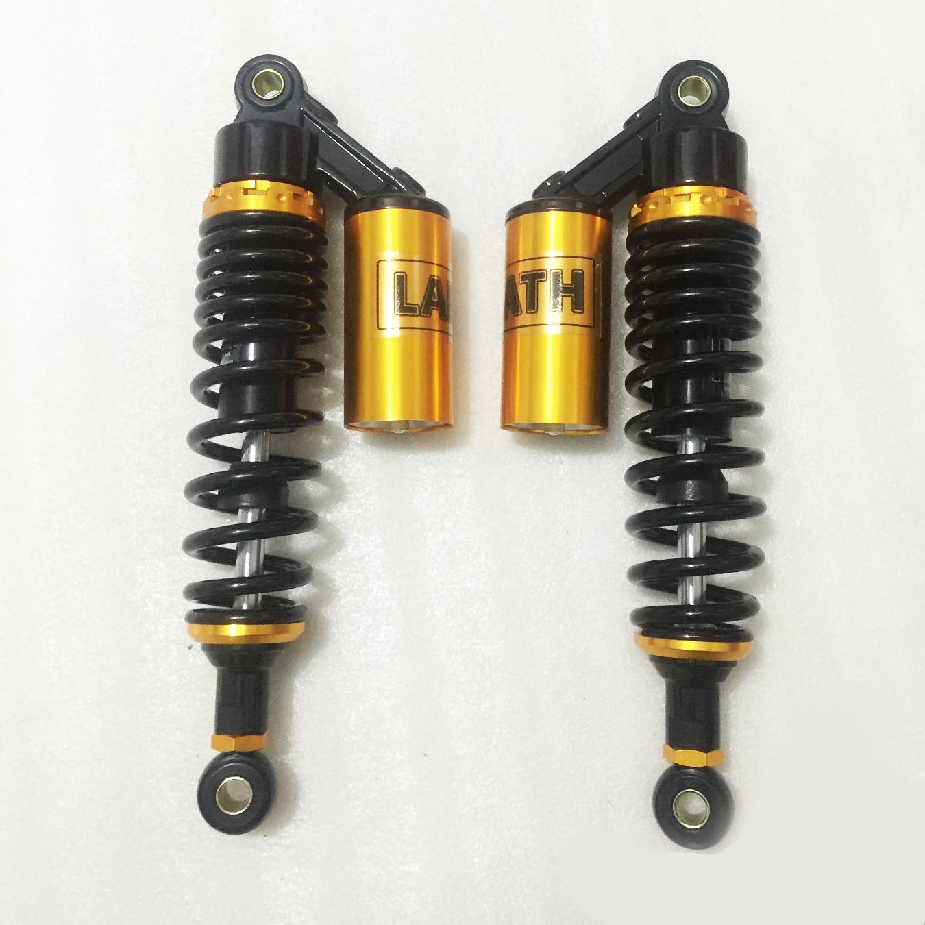 320mm 330mm 340mm Motorcycle Air Shock Absorber for HONDA SUZUKI YAMAHA cx500 xjr400 GSX750 CB400 TRX250R 450R 400ER