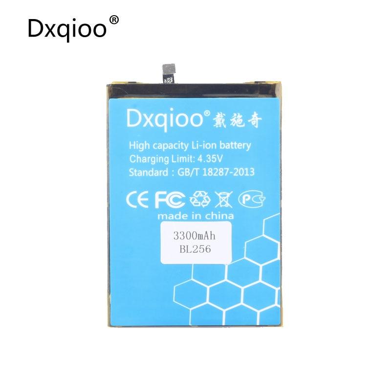 Batería de teléfono móvil Dxqioo compatible con Lenovo Lemon K4 Note K4note / X3 Lite K51c78 / A7010 BL256 3300mah baterías
