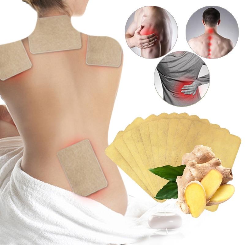 aliexpress.com - 10 pcs/1bag Ginger Back Pain Patch Neck Massage Back Body Warmer Sticker Self Heating 12h Patch Winter Keep Joint Warm Foot Knee