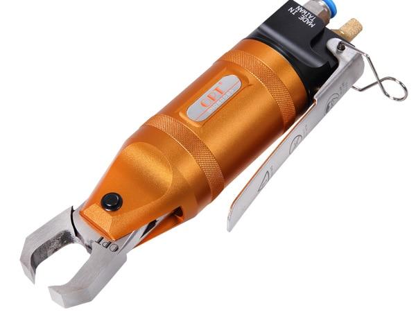 Calidad TS-20 + F5CTL, pinza neumática, tijeras de aire, cizallas neumáticas, herramienta de corte de extremos, cuchilla plana para cortar puertas de plástico