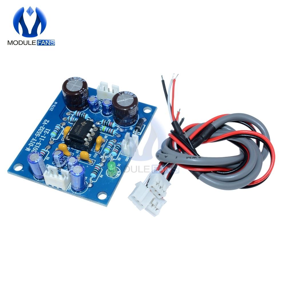 NE5532 Amplifer Board OP-AMP HIFI Preamplifier Signal  Bluetooth Amplifer Preamplifier Board Amplification Pre-Amp