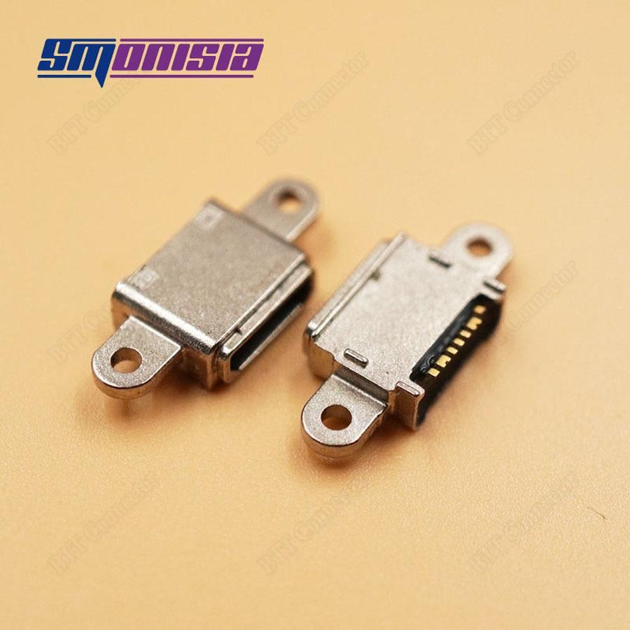10-1000 unids/lote Conector Micro USB para Samsung Galaxy S7 G930 SM-G930F G930F G930A G930W8 G930P G930T puerto de carga Micro USB