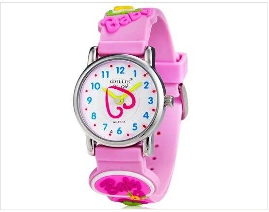 WILLIS/брендовые Детские повседневные кварцевые часы для девочек милые с