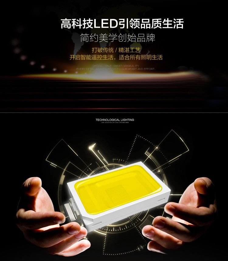 The LED 30W 11-20light K9 Crystal ceiling Lihting 110-240v Crystal lamp the  - buy with discount