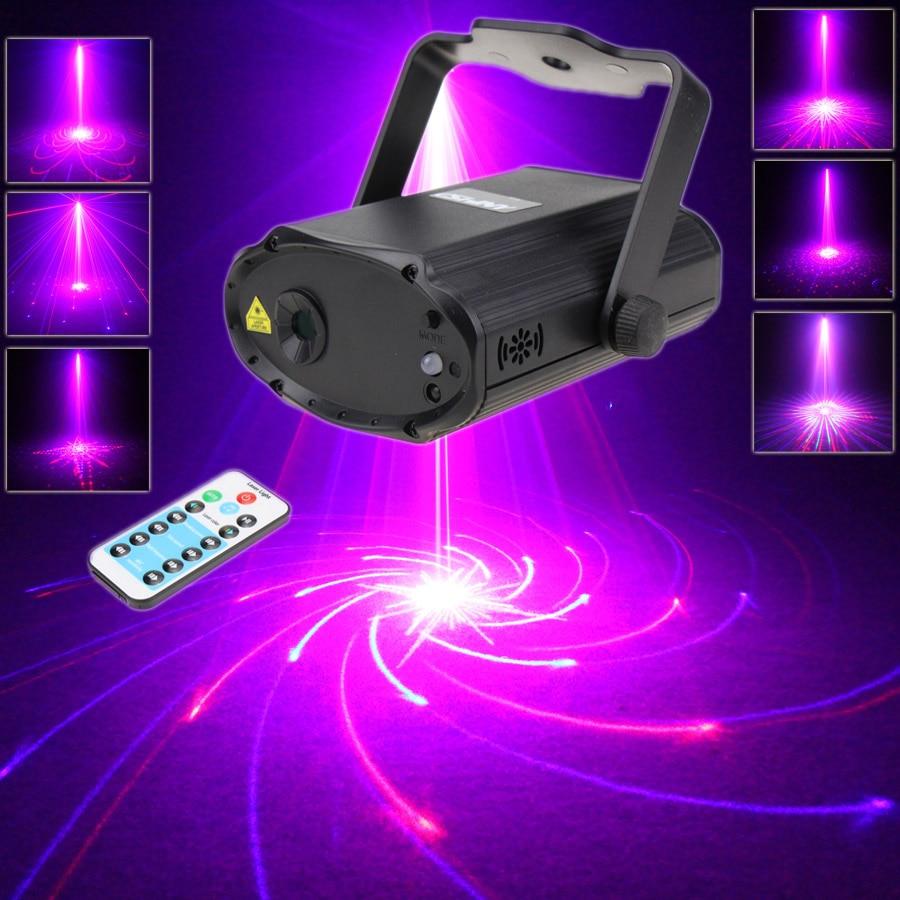 ESHINY Mini R&B Laser 32 Patterns Projector Dance Disco Bar Family Party Xmas DJ environment Stage Lighting Lights Show T169D3