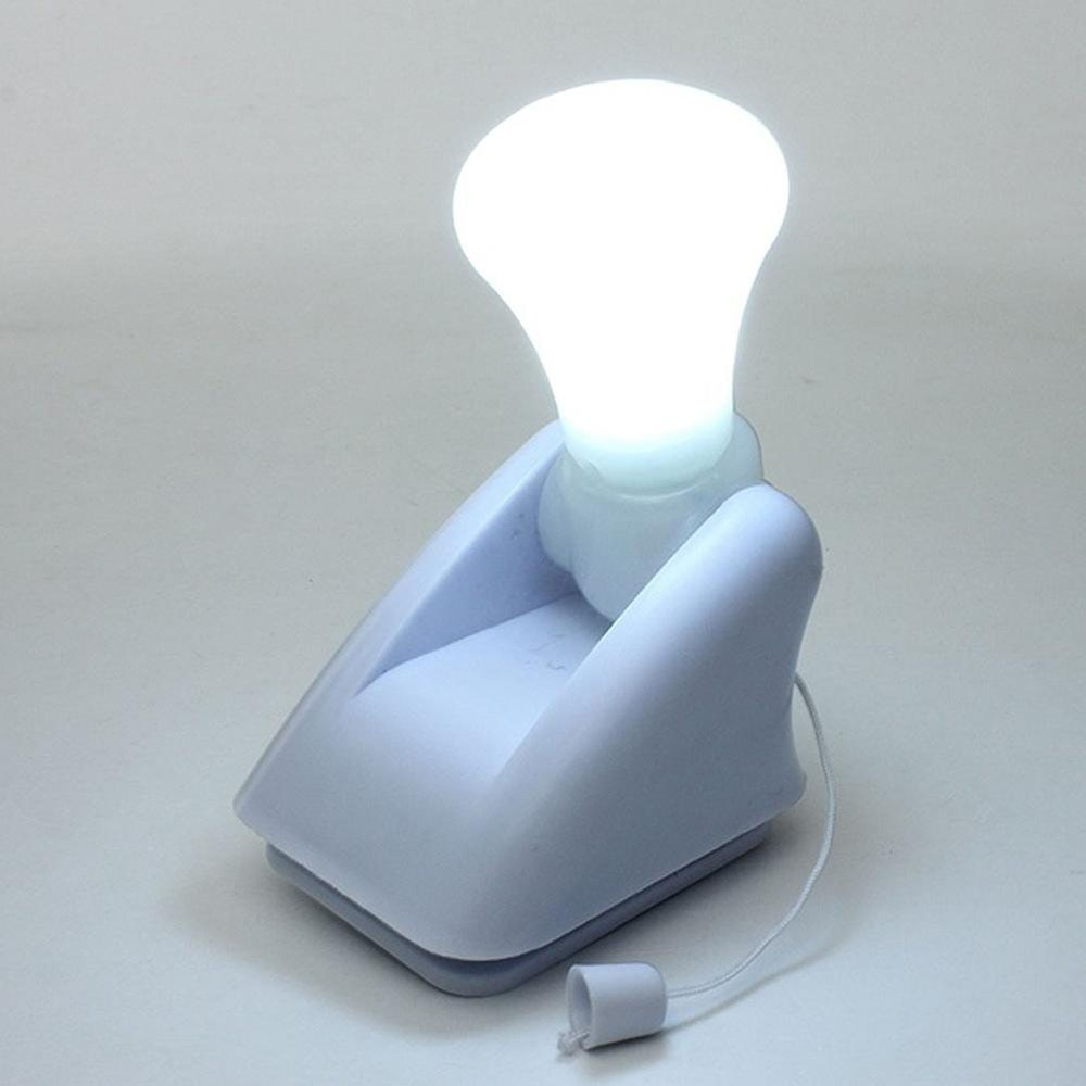 Лампочка с батарейным питанием, портативная Ночная Удобная Лампа для шкафа, ночники, ВКЛ./ВЫКЛ. Шнур, бесплатная доставка