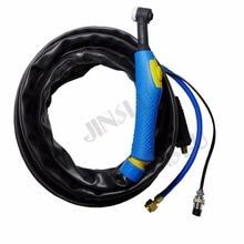 Torche de soudage Tig Argon WP9 WP-9 refroidie par Air tête bleue gaz et puissance séparées 4 M 1 pièces