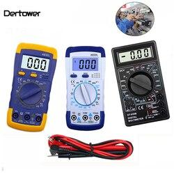 A830L DT-830B ЖК-дисплей Цифровой Вольтметр Омметр Амперметр мультиметр DC AC Вольт-диод Freguency тестер вольт тестовый ток