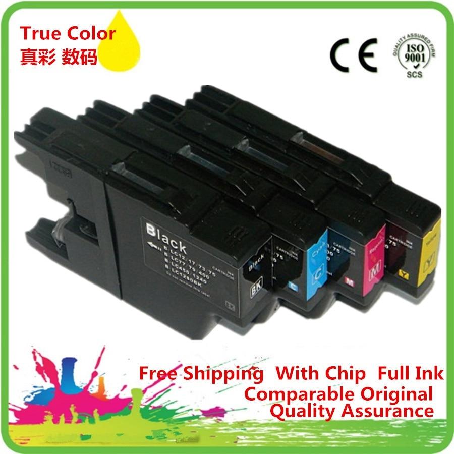 Reemplazo de LC 17 77 79 450, 1280 cartuchos de tinta, cartuchos de MFC-J432W MFC-J430W MFC-J6910DW MFC-J6710DW MFC-J5910DW