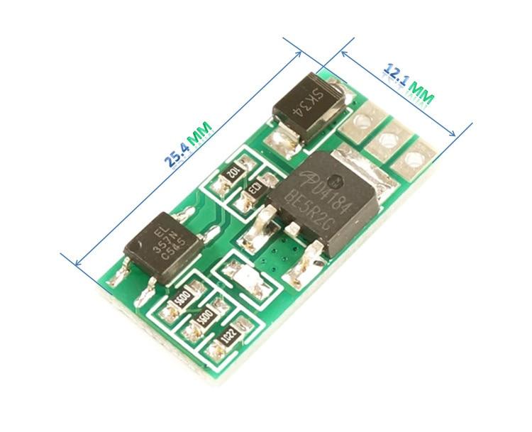 5 uds Módulo de aislamiento optoacoplador AOD4184 alta potencia CMOS Salida de drenaje abierto válvula electromagnética relé drive 3.3V5V12V24V
