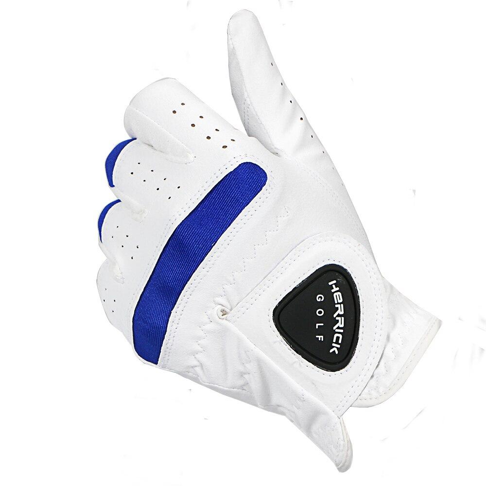 Guantes de Golf para hombre, tela de super fibra suave izquierda, guantes transpirables, accesorios de golf para exteriores, envío gratis