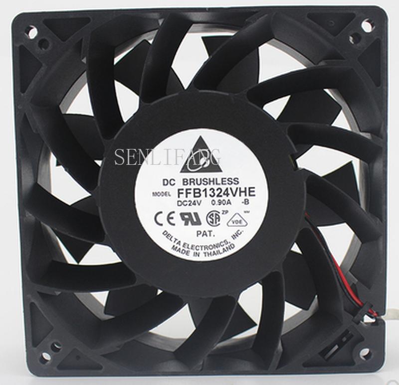 Envío Gratis FFB1324VHE-B inversor doble rodamiento de bolas de ventilador de refrigeración FFB1324VHE 24V DC 14,4 W 0.9A 3050RPM 12738*127*127*38mm 12cm