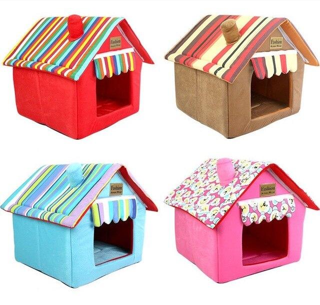 Productos para mascotas, casa plegable para perros, casa cómoda cama para cachorro, nido de 4 colores, cama para mascotas, cojín para gatos, tapetes para mascotas, tienda de mascotas