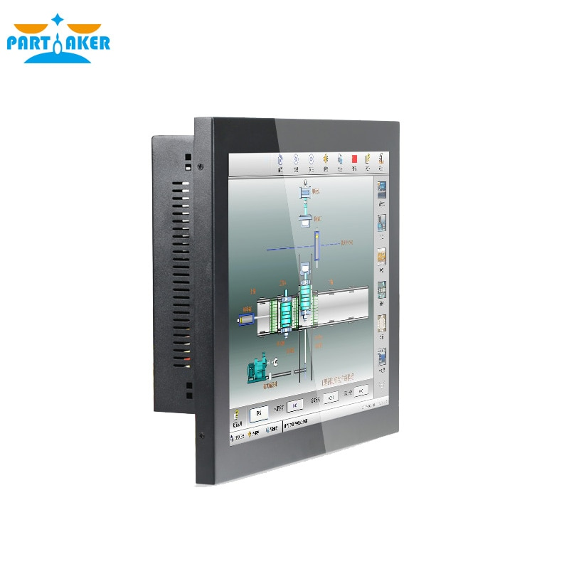 Z13 5 Wire Resistive Industrial Panel PC Price 15 inch Touch Screen All In One Computer Intel Core i5 3317U 4G RAM 64G SSD enlarge