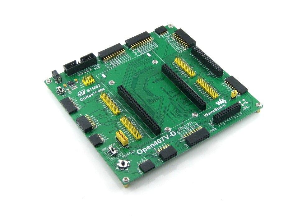 STM32F4DISCOVERY STM32F407VGT6 STM32F407 STM32 brazo Cortex-M4 Placa de desarrollo Open407V-D estándar