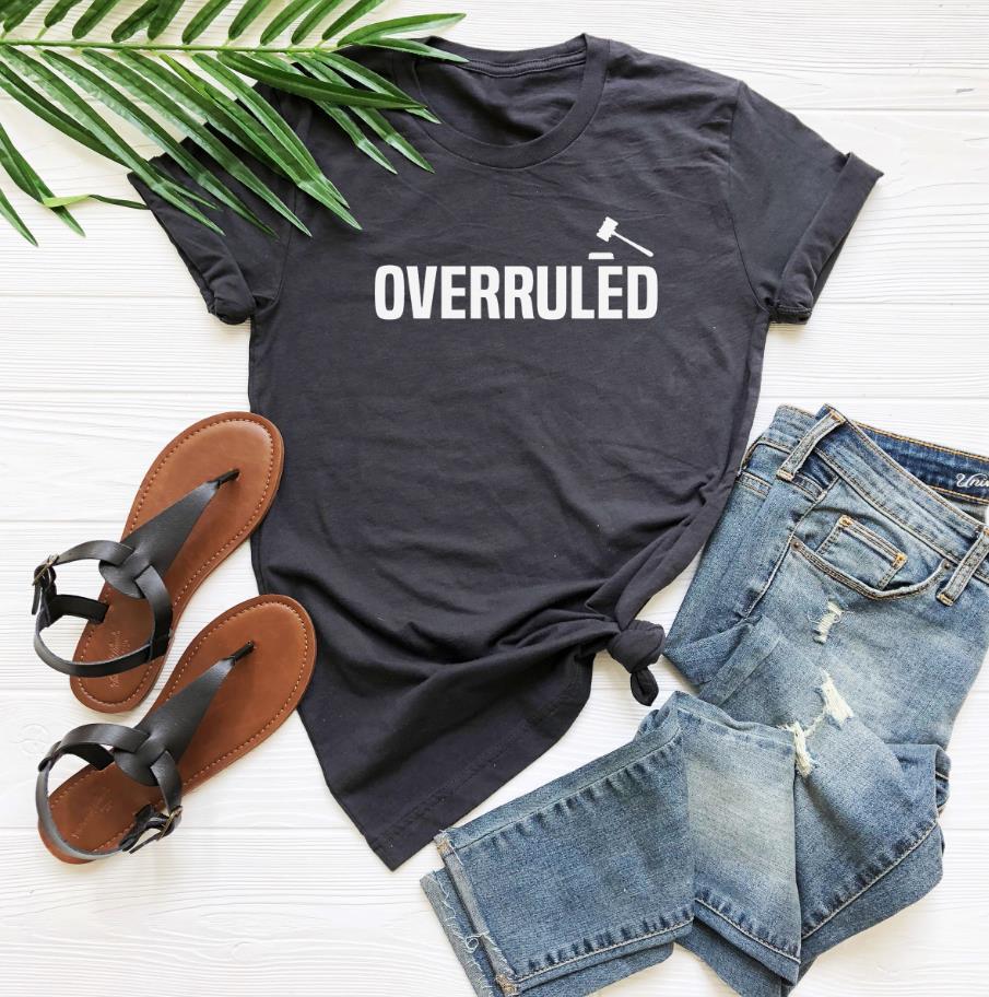Overruled tshirt feminino casual algodão hipster engraçado t camisa para lady yong menina topo t navio da gota ZY-28