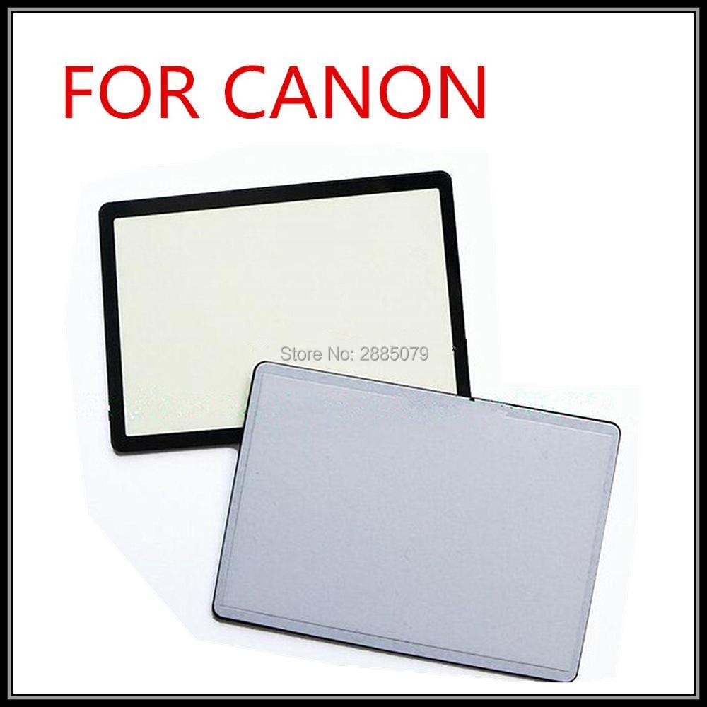 Nueva contraportada pantalla LCD de cristal para Canon 5D2/5DII 6D 60D unidad de repuesto de cámara pieza de reparación