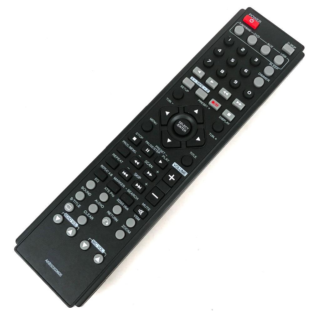 NEW Original remote control AKB32203605 For LG Fit for DVD AUX USB Fernbedienung new n2qayb000011 remote control fit for panasonic dvd dvd s1s dvd s1
