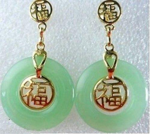 Mujer brinco свадебный подарок слово Love Fine или Fashion 100% натуральный камень драгоценный камень ювелирные изделия зеленый драгоценный камень серьги...