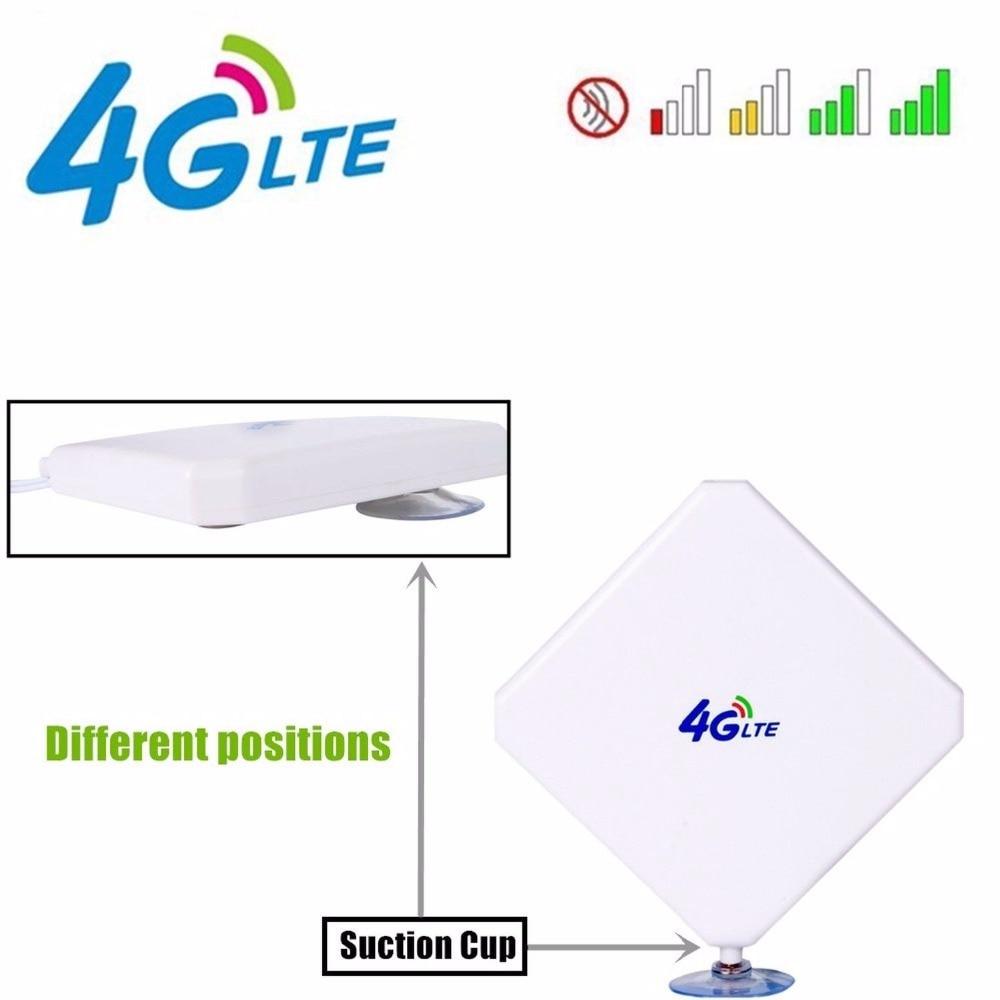 Huawei B618 35dBi 3G/4G LTE Lange Range Signaal antenne (router niet inbegrepen)