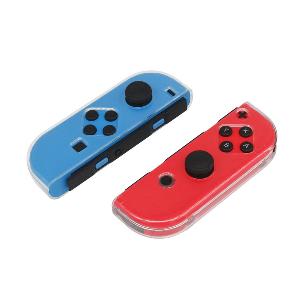 Carcasa protectora de TPU para Joy-Con para interruptor para Nintendo N-Switch NS Joystick Gamepad accesorios TNS-1850