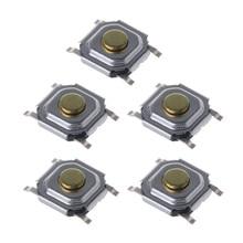 5 pièces Souris micro commutateur Dpi pour logitech G700 G9X G500 M905 M570 DPI 5x5x1.5mm