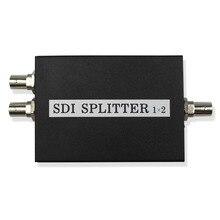 Répartiteur SDI au détail 1x2 extension multimédia SDI 1 à 2 Ports adaptateur prise en charge vidéo TV 1080P pour caméra de moniteur de projecteur
