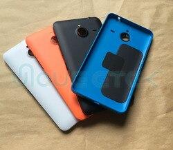 100% натуральная Новая задняя крышка для Microsoft Nokia Lumia 640 XL 640xl корпус батарейного отсека задняя оболочка с боковой кнопкой