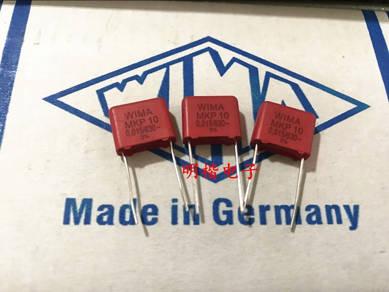 2019 hot sale 10pcs/20pcs Germany WIMA MKP10 630V 0.015UF 153 630V 15nf P: 10mm Audio capacitor free shipping