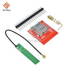 Carte de sortie GSM SIM800L GPRS GSM   Module Quad-Band, fente Micro SIM, carte de sortie GSM avec antenne TTL, Port série pour Arduino remplacer SIM900