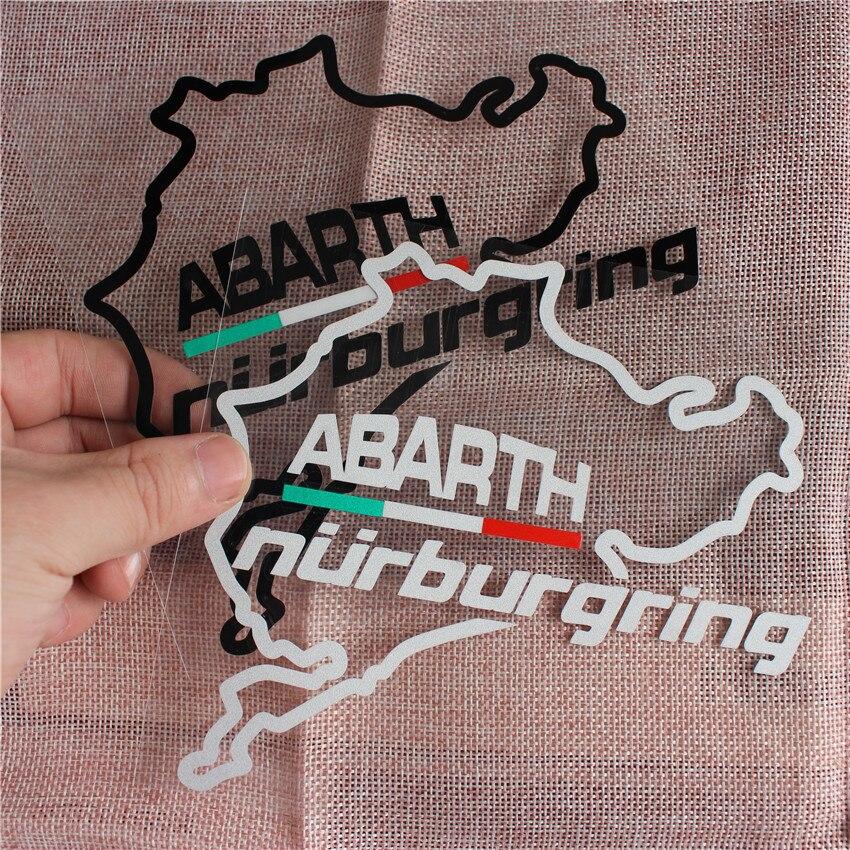 Italia pegatina de Nurburgring deportes Racing cuerpo pegatina para ventanas de coche...