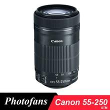 Canon 55-250 STM Objectif Canon EF-S 55-250mm f/4-5.6 EST Objectifs STM pour 650D 700D 750D 760D 1200D 1300D T3i T6 T5i T5 60D 70D 80D