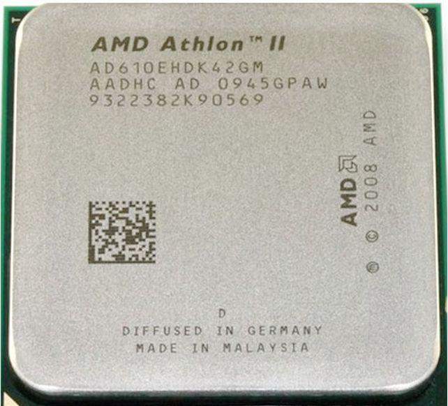 Procesador Atlon II X4 610e/AM2 +/AM3/TDP 45W/Quad-Core, envío gratuito