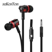 earphones 3 5mm jack headset hifi earbuds with mic sport for meizu sony xiaomi huawei phone bass handsfree gaming headset