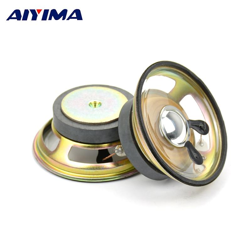 AIYIMA 2 uds exterior 36 magnético transparente impermeable altavoz 2,5 pulgadas 66mm 8 Ohm 10W altavoces