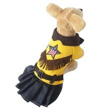 Jupe en jean de style occidental 4 tailles   Robe à motif de chiens, livraison gratuite par china post, nouveaux vêtements disponibles