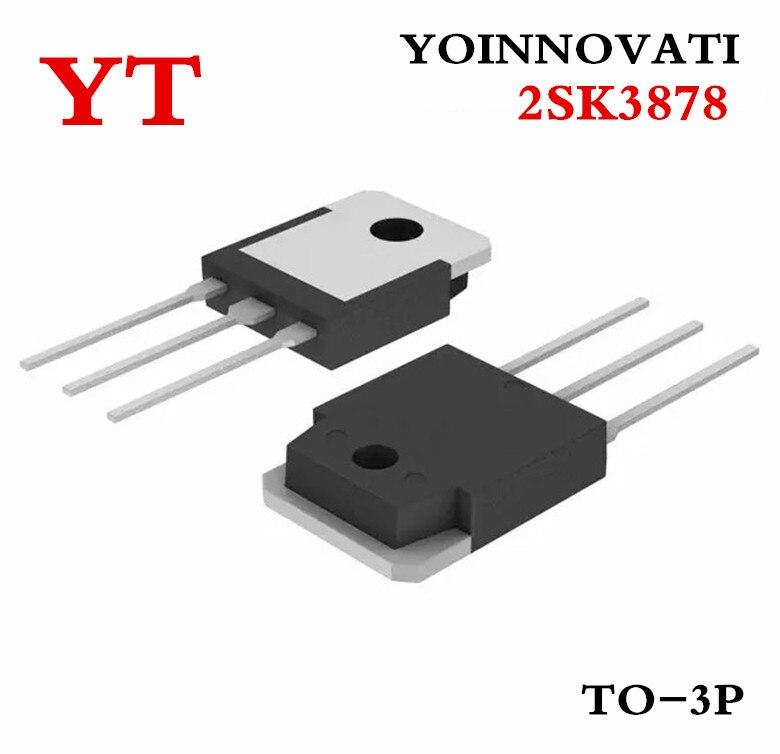 50ocs/مجموعة 2SK3878 K3878 TO-3P IC أفضل جودة