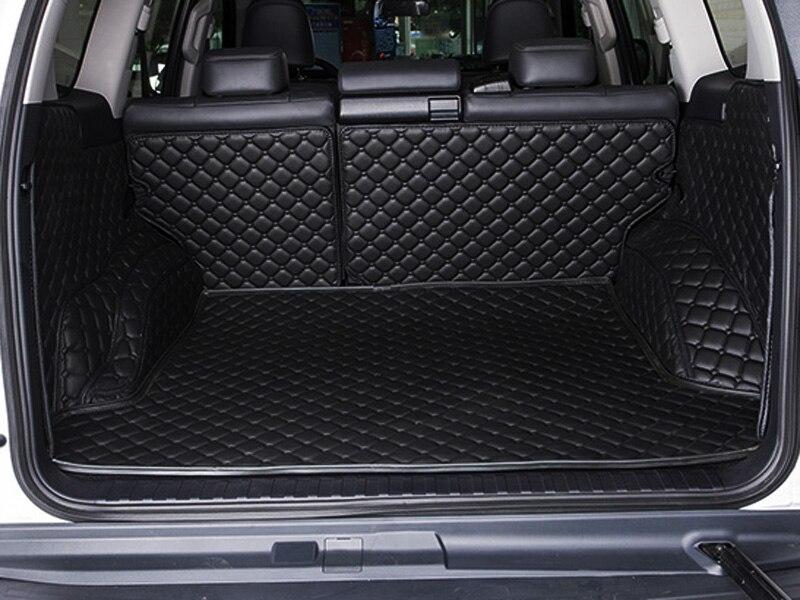 ¡Nuevo! Esteras especiales para maletero de Toyota Land Cruiser Prado 150, 5 asientos, 2017 A 2010, a prueba de agua, alfombras de maletero con forro de carga, envío gratis