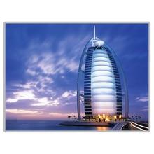 "Mundialmente famoso scenic ""burj al arab-dubai"" 5d diy pintura diamante quadrado completo/redondo diamante bordado venda strass imagem"