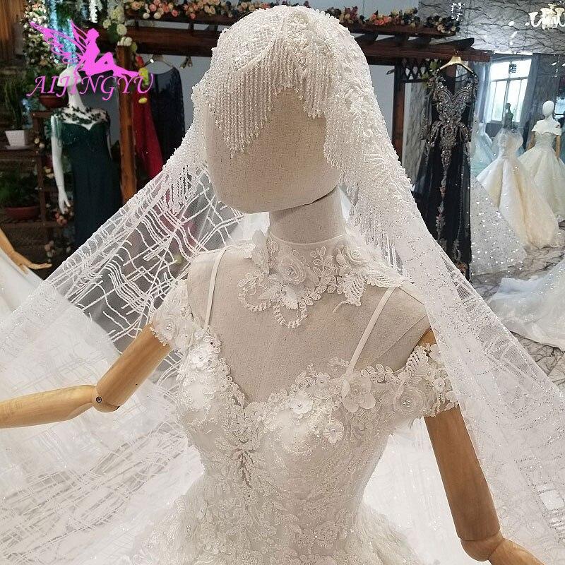 Vestidos de novia musulmanes AIJINGYU, vestidos de novia de 2 piezas, envío gratis, vestidos de novia asequibles con Color de talla grande, Ideas de vestidos de novia