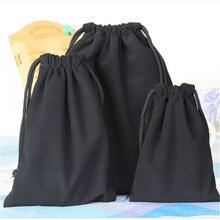 Sac demballage de stockage de bijoux de maquillage sac dimpression de Logo personnalisé sacs de cordon en gros pour les cadeaux de mariage
