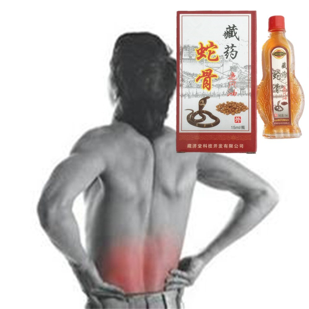 DISAAR 100% medicina china 15ml King cobra Venom aceite esencial yeso médico reumatoide Athritis cuerpo
