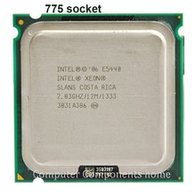 Intel Xeon E5440  Quad-Core Processor close to LGA775 CPU, works on LGA 775 mainboard