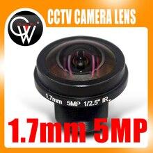 Objectif de 1.7mm 5 mp 1/2.5